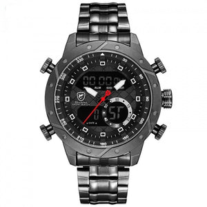 SHARK Luxury Chronograph Military Sports Watch