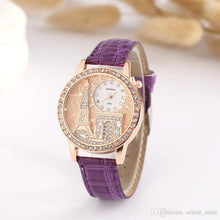 Load image into Gallery viewer, Exquisite Crystal Eiffel Tower Quartz Watch