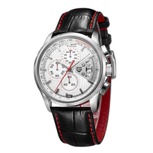 "Load image into Gallery viewer, PAGANI DESIGN ""Falcon"" Chronograph Leather Quartz Watch"