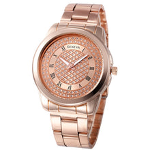 "Load image into Gallery viewer, Geneva ""Sultana"" Women's Crystal Quartz Watch"