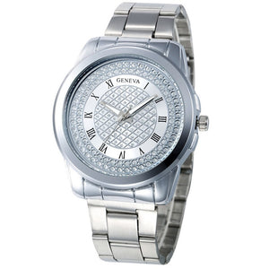 "Geneva ""Sultana"" Women's Crystal Quartz Watch"