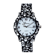Load image into Gallery viewer, Imitation Porcelain Women's Printed Band Quartz Watch #LH