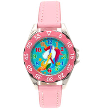 Load image into Gallery viewer, Girls Birthday Unicorn Learning Time Watch
