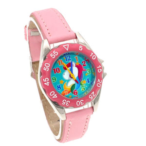 Girls Birthday Unicorn Learning Time Watch