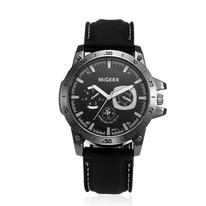 "MiGEER ""Chrono Color"" Dial Men's Watch"