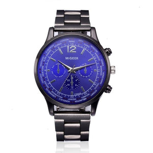 MiGEER Luxury Stainless Steel Chronograph Men's Watch