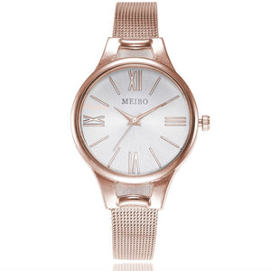 Women's Stainless Steel Mesh Strap Watch