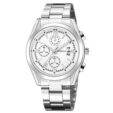 "Load image into Gallery viewer, Geneva ""Atlantis"" Men's Stainless Steel Watch"