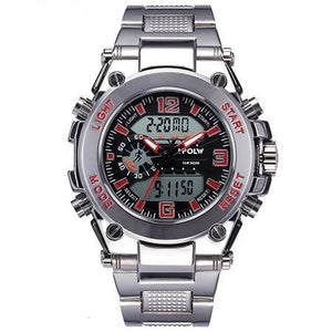 Men's Chronograph Sports Electronic LED Digital Watch
