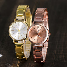 Load image into Gallery viewer, Fashion Women's Dress Quartz Stainless Steel Band Watch
