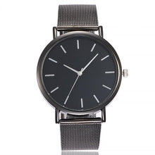Load image into Gallery viewer, Vansvar Casual Quartz Stainless Steel Band Watch