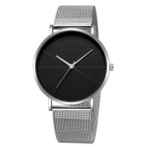 Men's Stainless Steel Quartz Watch 40mm