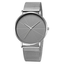 Load image into Gallery viewer, Men's Stainless Steel Quartz Watch 40mm