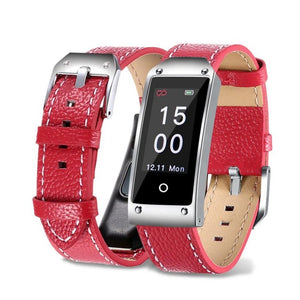 "CARPRIE ""Pegasus"" Waterproof Leather Band Fitness Tracker"