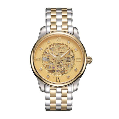 Hollow Gold S510 Stainless Steel Mechanical Men's Watch