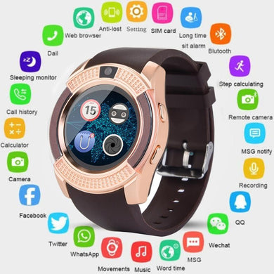 BT 3.0 Smart Watch GSM 2G Fitness Tracker