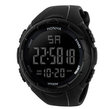 "Load image into Gallery viewer, HONHX ""Pursuit"" Digital LED Waterproof Men's Watch"