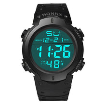 Load image into Gallery viewer, Men's LCD Digital Watch