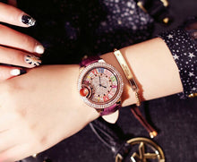 Load image into Gallery viewer, Mashali Multicolor Roman Numeral Crystal Women's Watch