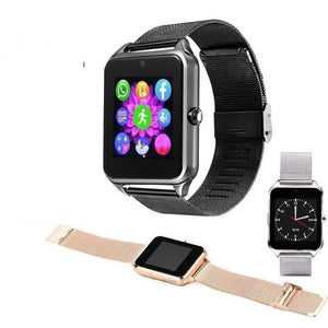 Bluetooth Smart Watch with Dial Camera Fitness Tracker