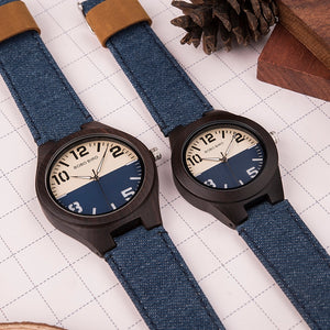 "BOBO BIRD ""Billie Jean"" Wood Quartz Watch"