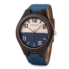 "Load image into Gallery viewer, BOBO BIRD ""Billie Jean"" Wood Quartz Watch"
