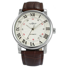 Load image into Gallery viewer, Classic Men's Luxury Automatic Mechanical Leather Strap Watch