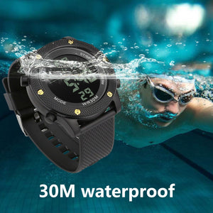 "Digital Military ""Quest"" Sports LED Waterproof Men's Watch"