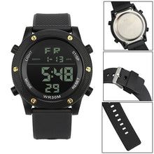"Load image into Gallery viewer, Digital Military ""Quest"" Sports LED Waterproof Men's Watch"