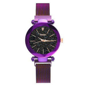 Women's Stainless Steel Mesh Quartz Dress Watch