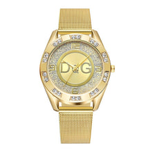 Load image into Gallery viewer, Women's Crystal Stainless Steel Band Quartz Watch