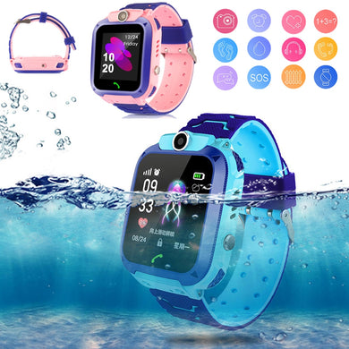 High Quality Newest Waterproof Tracker Smart Kids Child Watch Anti-lost SOS Call Smart Watch For iOS Android