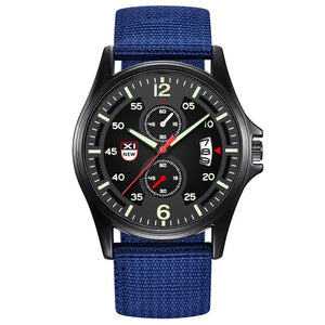 "Military Men's ""Guerilla"" Nylon Band Sport Watch"
