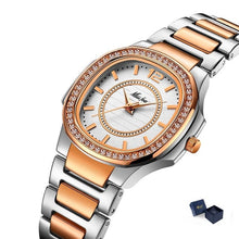 "Load image into Gallery viewer, Miss Fox ""Radiate"" Luxury Quartz Stainless Steel Watch"