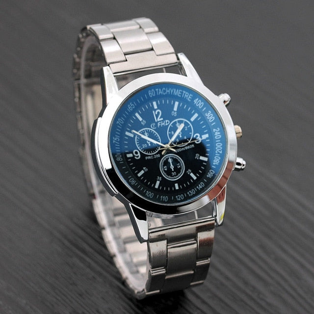 Men's Stainless Steel Watch 38 MM