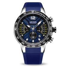 "Load image into Gallery viewer, Megir ""Elysium"" Men's Silicon Sport Chronograph Watch"