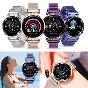 Women's Sport Smart Bracelet Watch Pedometer Full Case Cover
