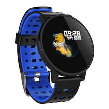 Load image into Gallery viewer, IP67 Smart Watch LED Display Fitness Tracker Heart Rate Sensor Blood Pressure men's Watch For IOS Android 4.4