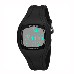 Synoke Outdoor Pedometer Digital Watch