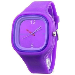 Nifty Kids Colorful Jelly Silicone Sport Quartz Watch
