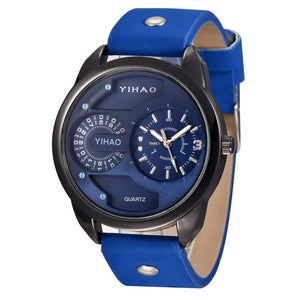 "YIHAO Men's ""Crossover Luxury"" Quartz Watch"