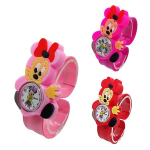 Infantil Rubber Cartoon 3D Life Waterproof Kids Watch