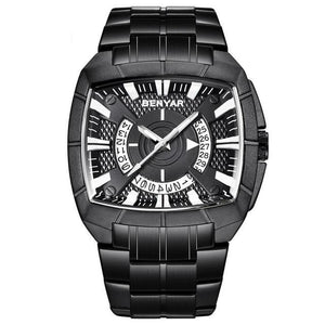 BENYAR Quartz Men's Waterproof Stainless Steel Watch