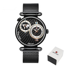 Load image into Gallery viewer, Luxury Watchnetic Dual Dial Quartz Men's Waterproof Watch