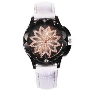 Women's Luxury Rhinestone Illusion Dial Analog Quartz Watch