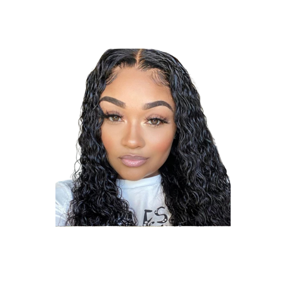 Water Wave - Lace Frontal Wig - Alcoholic Hair