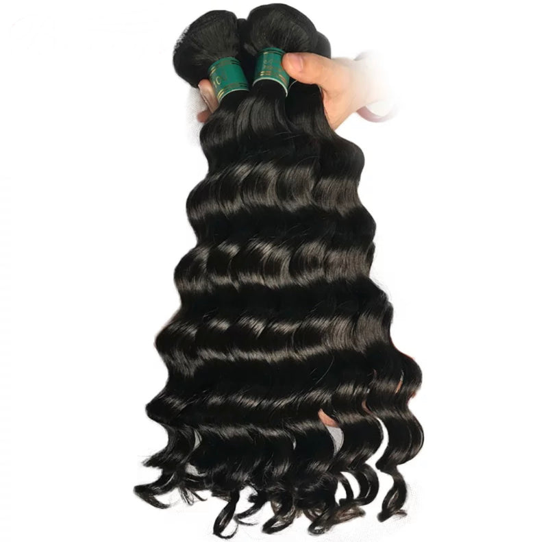Loose  Deep Wave - Indv. Bundle - Alcoholic Hair