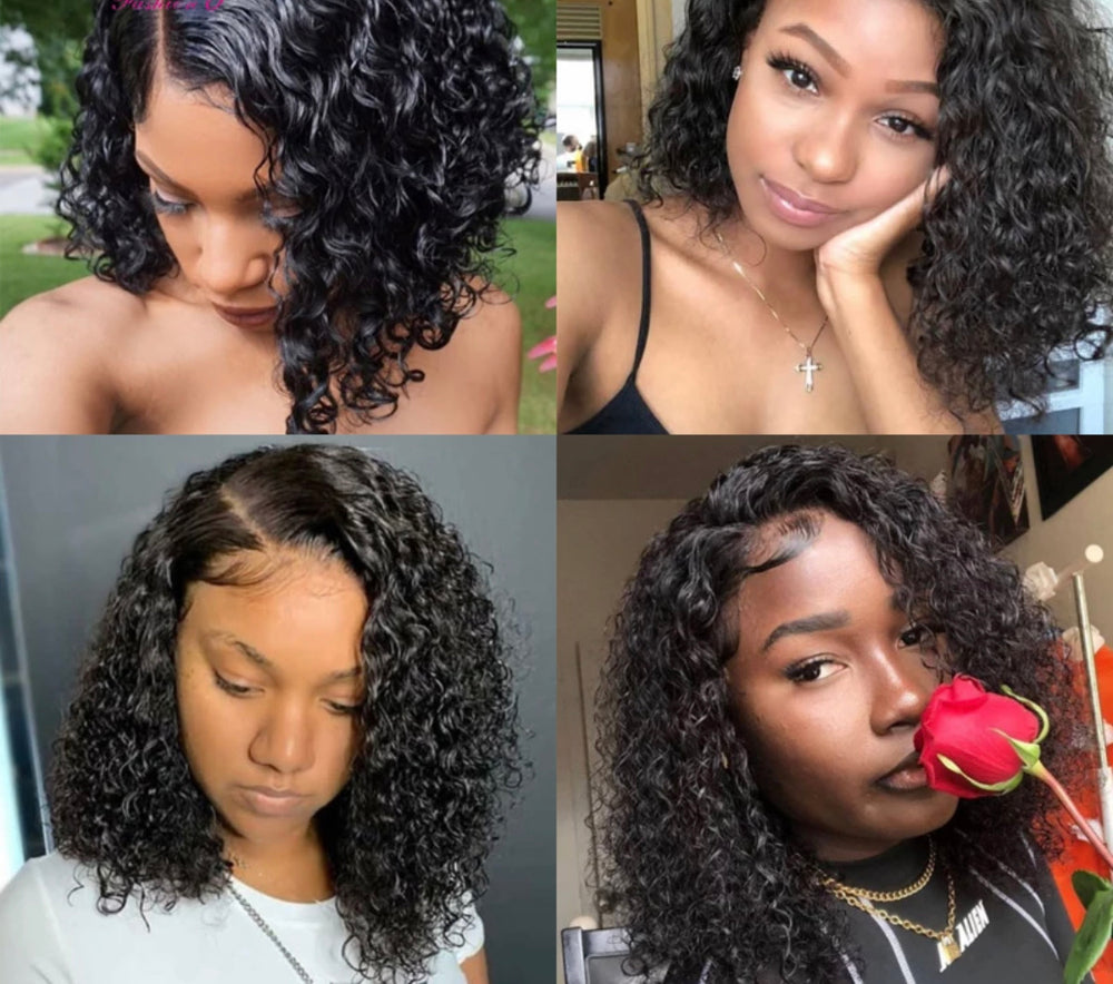 Deep Wave - Lace Closure Wig - Alcoholic Hair