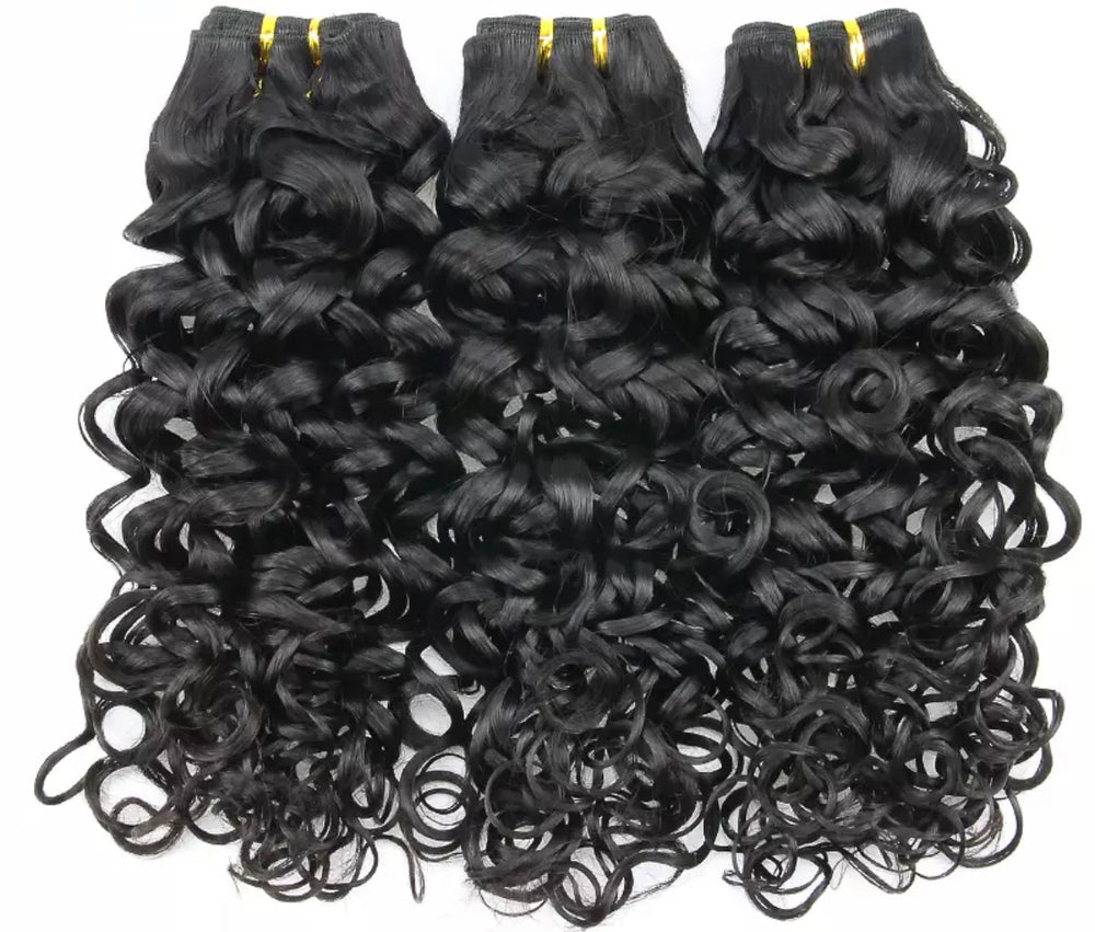 Water Wave - Raw Indian Hair - 3 Piece Bundles - Alcoholic Hair