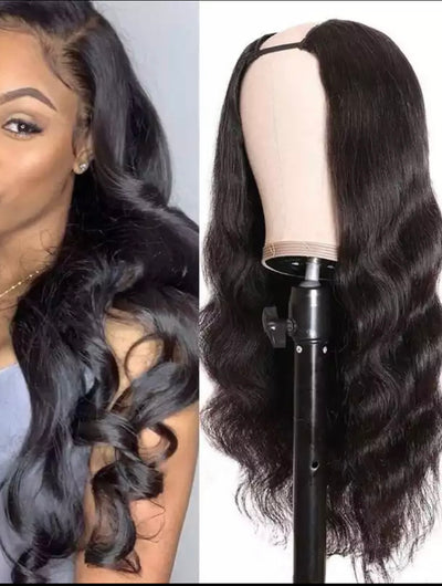 Body Wave - Lace Closure Wigs - U Part - Alcoholic Hair